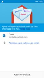 Lenovo Vibe K6 - Email - Como configurar seu celular para receber e enviar e-mails - Etapa 12