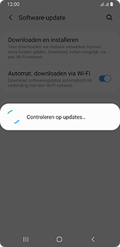 Samsung galaxy-a8-2018-sm-a530f-android-pie - Software updaten - Update installeren - Stap 6
