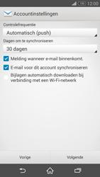 Sony D5803 Xperia Z3 Compact - E-mail - Account instellen (IMAP met SMTP-verificatie) - Stap 17