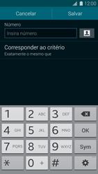 Samsung G900F Galaxy S5 - Chamadas - Como bloquear chamadas de um número específico - Etapa 10