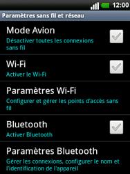LG C660 Optimus Pro - Wifi - configuration manuelle - Étape 4