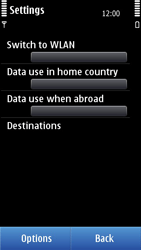 Nokia C7-00 - Internet - Enable or disable - Step 6