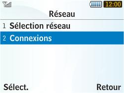 Samsung S3350 Chat 335 - Internet - configuration manuelle - Étape 6