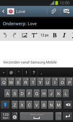 Samsung I8730 Galaxy Express - E-mail - Hoe te versturen - Stap 9
