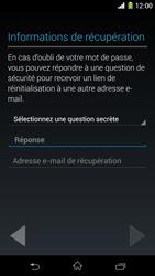 Sony Xpéria Z1 - Premiers pas - Créer un compte - Étape 15