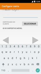 Motorola Moto Turbo - Email - Como configurar seu celular para receber e enviar e-mails - Etapa 9