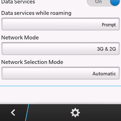 BlackBerry Q10 - Network - Usage across the border - Step 6
