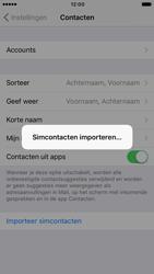 Apple iPhone 7 (Model A1778) - Contacten en data - Contacten kopiëren van SIM naar toestel - Stap 5