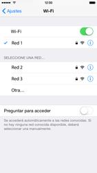 Apple iPhone 6 iOS 8 - WiFi - Conectarse a una red WiFi - Paso 7