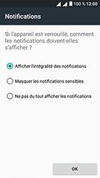Alcatel U5 - Sécuriser votre mobile - Activer le code de verrouillage - Étape 12