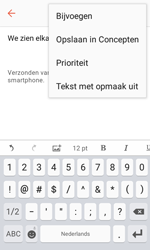 Samsung Galaxy Xcover 3 VE - E-mail - Hoe te versturen - Stap 11