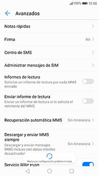 Huawei P10 Plus - Mensajería - Configurar el equipo para mensajes de texto - Paso 8