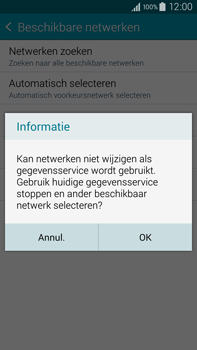 Samsung N910F Galaxy Note 4 - Bellen - in het buitenland - Stap 10