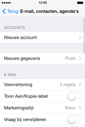 Apple iPhone 4 iOS 7 - E-mail - Account instellen (IMAP zonder SMTP-verificatie) - Stap 4