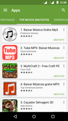 Motorola Moto E (2ª Geração) - Aplicativos - Como baixar aplicativos - Etapa 11