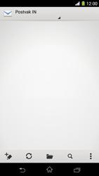 Sony Xperia Z1 4G (C6903) - E-mail - Hoe te versturen - Stap 4