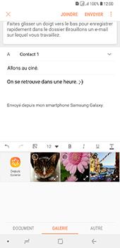 Samsung Galaxy A7 (2018) - E-mail - envoyer un e-mail - Étape 12