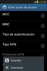 Samsung S6310 Galaxy Young - Internet - Configurar Internet - Paso 16
