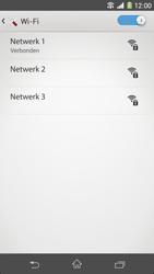Sony Xperia Z1 4G (C6903) - WiFi - Handmatig instellen - Stap 8