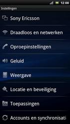 Sony Ericsson Xperia Arc - Voicemail - handmatig instellen - Stap 5