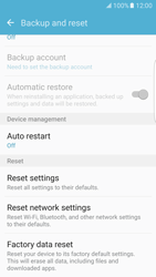 Samsung G935 Galaxy S7 Edge - Device - Reset to factory settings - Step 7