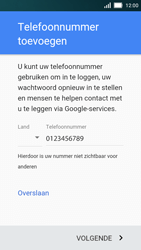 Huawei Y5 - Applicaties - Account aanmaken - Stap 12