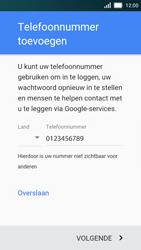 Huawei Y5 - Applicaties - Account aanmaken - Stap 12