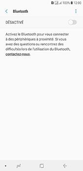 Samsung Galaxy J6 - Internet et connexion - Connexion avec un équipement multimédia via Bluetooth - Étape 7