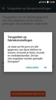 HTC Desire 825 - Device maintenance - Terugkeren naar fabrieksinstellingen - Stap 8