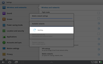 Samsung P7500 Galaxy Tab 10-1 - Network - Usage across the border - Step 6