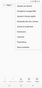 Samsung Galaxy Note 8 - Internet - Configuration manuelle - Étape 24