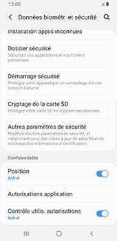 Samsung Galaxy S9 Android Pie - Sécurité - modifier SIM PIN - Étape 5