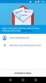 Motorola Moto G (4ª Geração) - Email - Como configurar seu celular para receber e enviar e-mails - Etapa 14