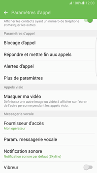 Samsung Samsung Galaxy S6 Edge+ - Android M - Messagerie vocale - configuration manuelle - Étape 7