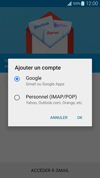 Samsung Galaxy Note 4 - E-mails - Ajouter ou modifier votre compte Gmail - Étape 7