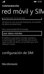 Nokia Lumia 635 - Red - Seleccionar el tipo de red - Paso 5