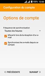 Alcatel U3 - E-mails - Ajouter ou modifier un compte e-mail - Étape 21