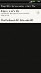 HTC One S - Sécuriser votre mobile - Personnaliser le code PIN de votre carte SIM - Étape 6