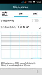 Huawei Y3 - Rede móvel - Como ativar e desativar uma rede de dados - Etapa 7