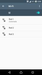Sony Xperia E5 (F3313) - WiFi - Conectarse a una red WiFi - Paso 8