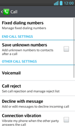LG E460 Optimus L5 II - Voicemail - Manual configuration - Step 5
