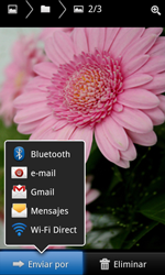 Samsung I8160 Galaxy Ace II - Funciones básicas - Uso de la camára - Paso 9