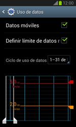 Samsung i8260 Galaxy Core - Internet - Ver uso de datos - Paso 10