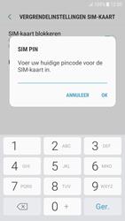 Samsung Galaxy J5 (2016) - Android Nougat - Beveiliging en ouderlijk toezicht - Hoe wijzig ik mijn SIM PIN-code - Stap 8