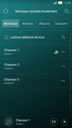 Huawei Y5 - Photos, vidéos, musique - Ecouter de la musique - Étape 6