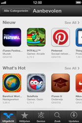 Apple iPhone 4 (iOS 6) - apps - app store gebruiken - stap 4