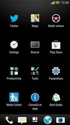 HTC One - Internet - Navigation sur internet - Étape 2