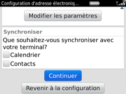 BlackBerry 9780 Bold - E-mail - Configuration manuelle - Étape 8