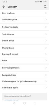 Huawei P30 - Data - Maak een back-up met je account - Stap 4