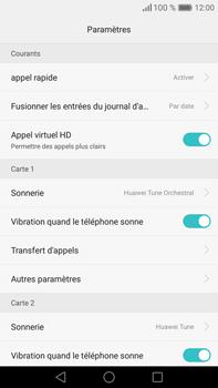 Huawei Mate 8 - Messagerie vocale - Configuration manuelle - Étape 5
